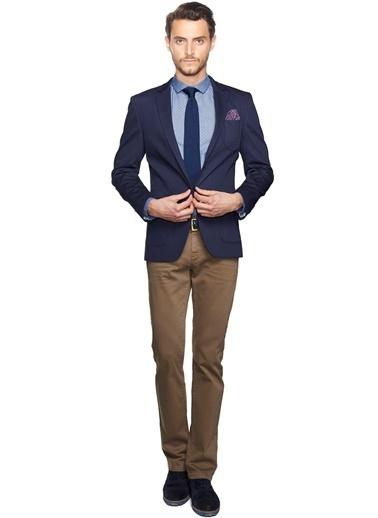 Altınyıldız Classics Slim Fit Klasik Ceket Lacivert